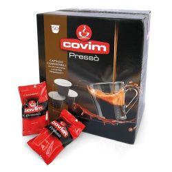 Picture of 50 Capsule caffè Covim Pressò miscela Granbar compatibile Nespresso