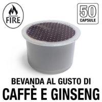 50 capsule bevanda al gusto di CAFFE' E GINSENG compatibile Fior Fiore Coop e Aroma Vero