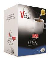 80 Capsule caffè Verzì miscela Aroma Dolce Monodose compatibile Firma