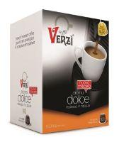 100 Capsule caffè Verzì miscela Aroma Dolce Monodose compatibile Nespresso