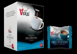 Picture of 100 Capsule caffè Verzì miscela Decaffeinato Monodose compatibile Lavazza A Modo Mio