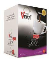 100 Capsule caffè Verzì miscela Aroma Dolce Monodose compatibile Lavazza A Modo Mio