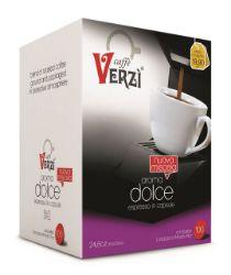 Picture of 100 Capsule caffè Verzì miscela Aroma Dolce Monodose compatibile Lavazza A Modo Mio