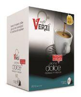 80 Capsule caffè Verzì miscela Aroma Dolce Monodose compatibile Caffitaly