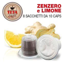 Picture of 80 capsule Zenzero e Limone Gattopardo compatibile Nespresso Toda