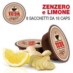 Picture of 128 Capsule ZENZERO E LIMONE Toda il Mio Gattopardo compatibili A Modo Mio