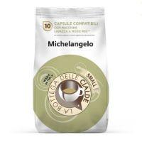 80 capsule (8 sacchetti da 10 caps) Caffè Michelangelo compatibile Lavazza a Modo Mio