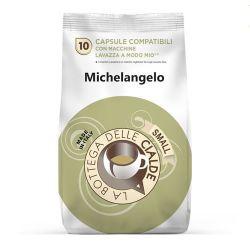 Picture of 80 capsule (8 sacchetti da 10 caps) Caffè Michelangelo compatibile Lavazza a Modo Mio