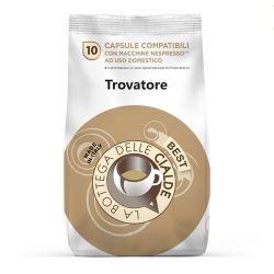 Picture of 80 capsule (8 sacchetti da 10 caps) Caffè Best Trovatore compatibile Nespresso