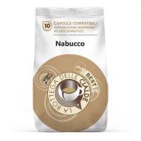 80 capsule (8 sacchetti da 10 caps) Caffè Best Nabucco compatibile Nespresso