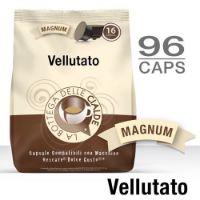 96 Capsule caffè VELLUTATO Monodose compatibile Nescafè Dolce Gusto