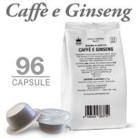 96 Capsule CAFFÈ E GINSENG compatibili Bialetti