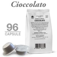 96 Capsule CIOCCOLATO compatibili Bialetti