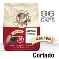 96 Capsule CORTADO (6 sacchetti da 16) compatibile Nescafè Dolce Gusto