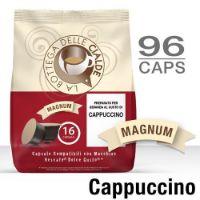 96 Capsule CAPPUCCINO (6 sacchetti da 16) compatibile Nescafè Dolce Gusto