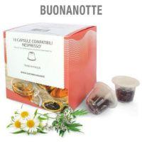 10 capsule Tisana in foglia Buonanotte compatibile Nespresso