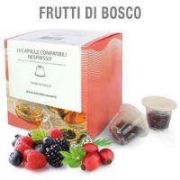 10 capsule Tisana in foglia Frutti di Bosco compatibile Nespresso