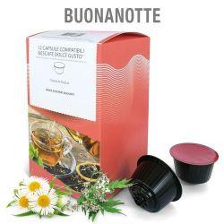 Picture of 12 Capsule Tisana in foglie Buonanotte Compatibili Nescafé Dolce Gusto