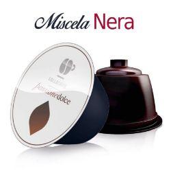 Picture of Offerta 6 + 2 scatole Omaggio da 16 Capsule caffè Lollo miscela Nera compatibile Dolce Gusto