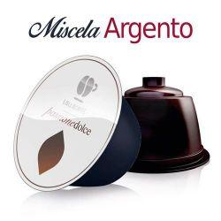 Picture of Offerta 6 + 2 scatole Omaggio da 16 Capsule caffè Lollo miscela Argento compatibile Dolce Gusto
