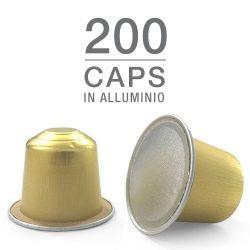 Picture of 200 capsule caffè in alluminio compatibili Nespresso