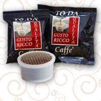 50 Cialde caffè Toda Gusto Ricco Monodose compatibile Espresso Point