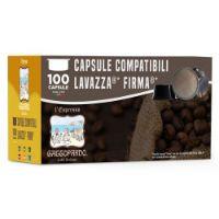 100 Cialde caffè Toda GUSTO RICCO compatibile Lavazza Firma