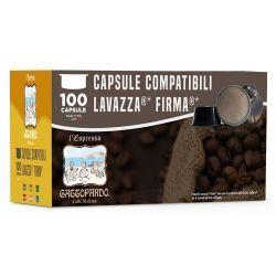 Picture of 100 Cialde caffè Toda DEK compatibile Lavazza Firma